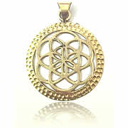 brass jewellery pendant - Avashy