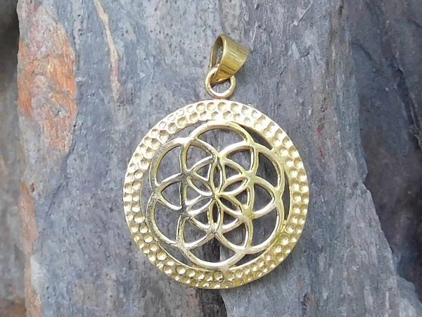 Seed of Life Pendant by Avashy